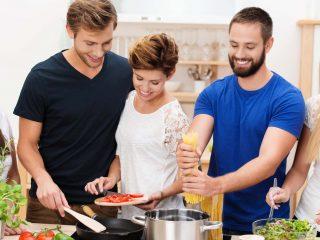 memasak bersama