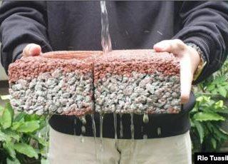 paving block penyokong  tersedianya air tanah