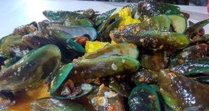 bumbu asam manis kerang hijau